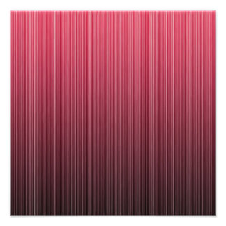 Red Stripes Photo Art
