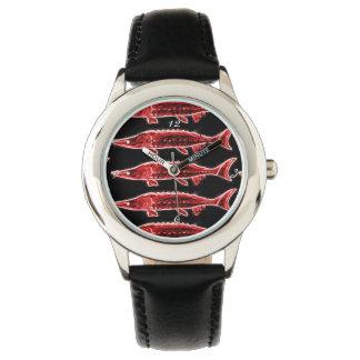 red sturgeons Thunder_Cove black Wristwatch