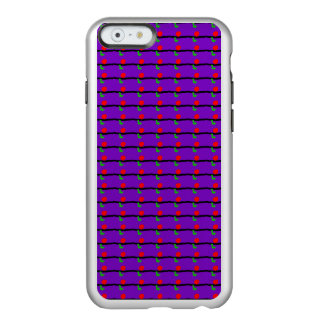 Red Sun Black Horizon Purple Sky Green Lizard Incipio Feather® Shine iPhone 6 Case