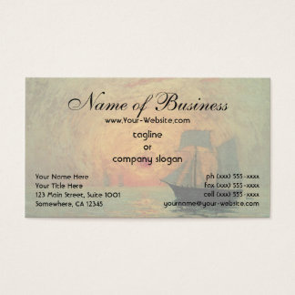 Red Sun by Maxime Maufra Business Card