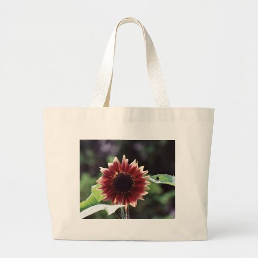 """""""Red Sunflower"""" Floral Photography Tote Bag"""