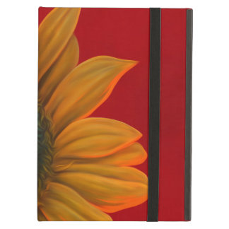 red sunflower iPad air cases
