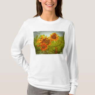 Red Sunflower Photo T T-Shirt
