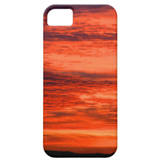 Red Sunset iPhone 5 Covers