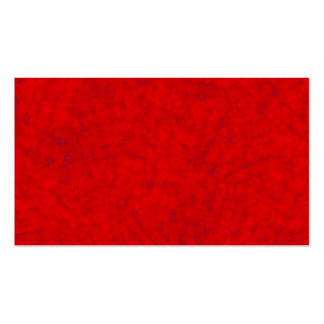 red surface TPD Pack Of Standard Business Cards