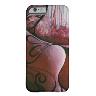 Red Swirl Barely There iPhone 6 Case