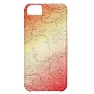 red swirl case iPhone 5C case