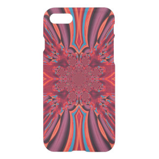 Red Swirl Design I Phone 7 Case