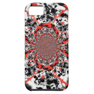 Red Swirl iPhone 5 Case