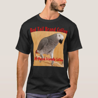 Red Tail Brand Coffee Tee