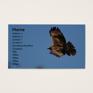 Red Tail Fight Business Card
