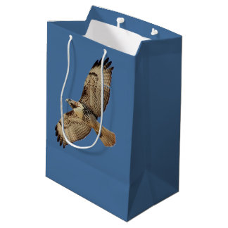 Red Tail Hawk Bird Animals Gift Bag