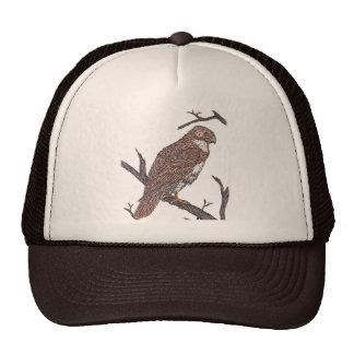 red tail hawk cap