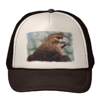 Red-tail Hawk Cap Trucker Hats