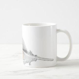Red-tail Hawk feather Mug
