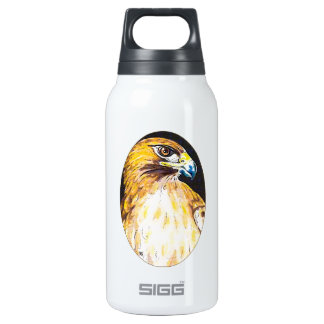 Red Tail Hawk Insulated Water Bottle