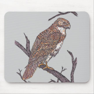 red tail hawk mouse mats