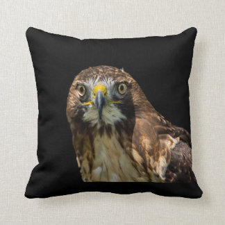 Red Tail Hawk Throw Pillow Cushions