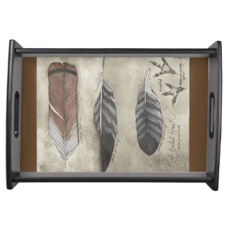 Red Tail Hawk - tray
