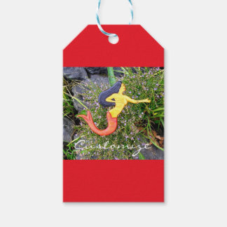 red-tail sirena mermaid gift tags