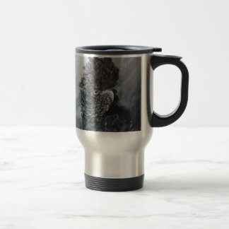 Red Tailed black Cockatoo gifts Stainless Steel Travel Mug
