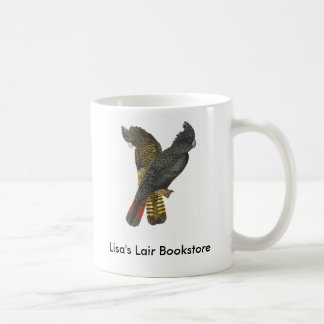 Red-tailed Black Cockatoo Pair Bookstore Promo Coffee Mug