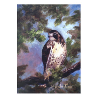 Red Tailed Hawk Art Card Business Card