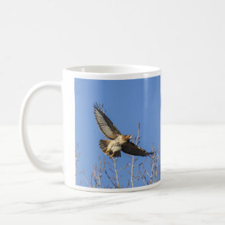 Red-tailed Hawk Basic White Mug