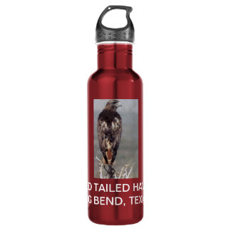 RED TAILED HAWK BIG BEND, TX 710 ML WATER BOTTLE