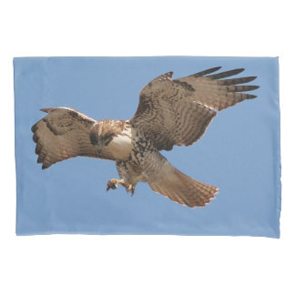 Red Tailed Hawk Bird Animal Wildlife Pillowcase