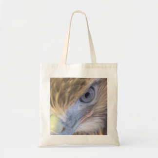 Red-tailed hawk budget tote bag
