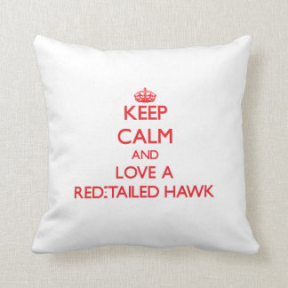 Red-Tailed Hawk Cushion