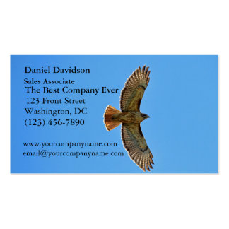 Red-Tailed Hawk in Flight Business Cards