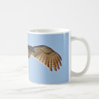 Red Tailed Hawk in flight Coffee Mug