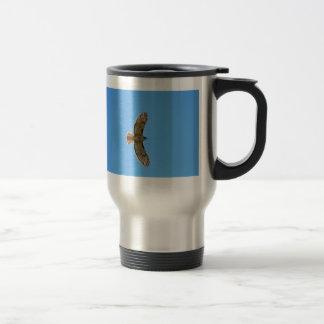 Red-Tailed Hawk in Flight Coffee Mug