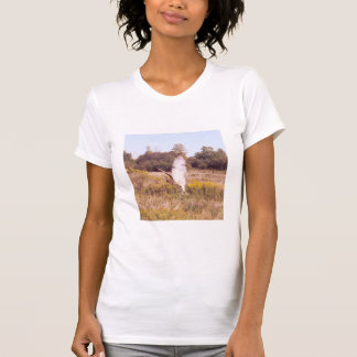 Red Tailed Hawk in takeoff T-shirts