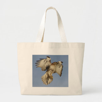 Red Tailed Hawk Jumbo Tote Bag