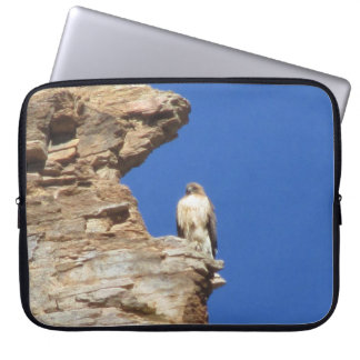 Red Tailed Hawk Laptop Computer Sleeves