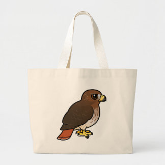 Red-tailed Hawk Large Tote Bag