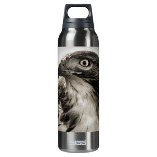 Red-tailed Hawk 16 Oz Insulated SIGG Thermos Water Bottle