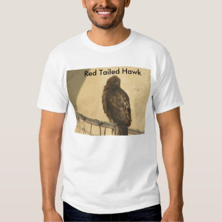 Red Tailed Hawk Tee Shirt