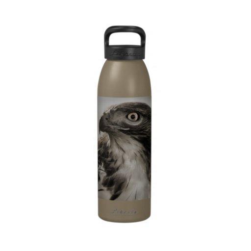 Red-tailed Hawk Water Bottle