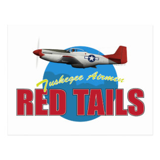 Red Tails Tuskegee Airmen Post Cards