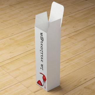 Red Tango Shoe Wine Gift Box
