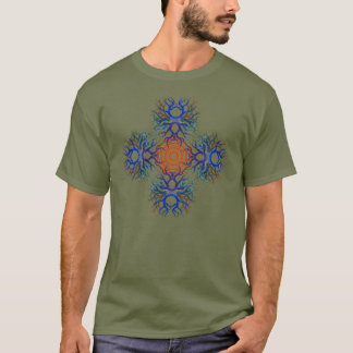 Red Target and Four Pods T-Shirt