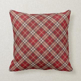 Red Tartan Cushion