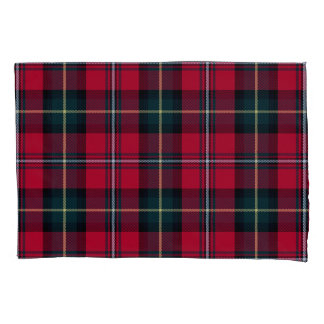 Red Tartan Pillowcase