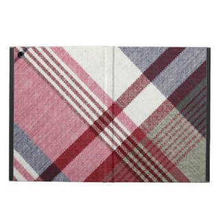 Red Tartan Plaid Case For iPad Air