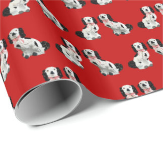 Red Tartan Staffordshire by Redux121DesignStudio Wrapping Paper
