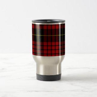 Red Tartan Travel/Commuter Mug
